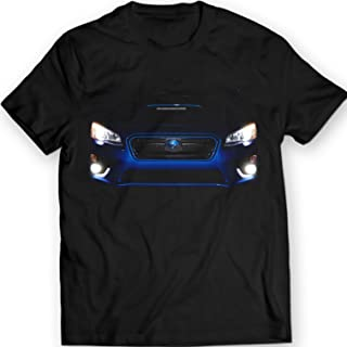 WRX sti 2015 T-Shirt Black Tee 100% Cotton