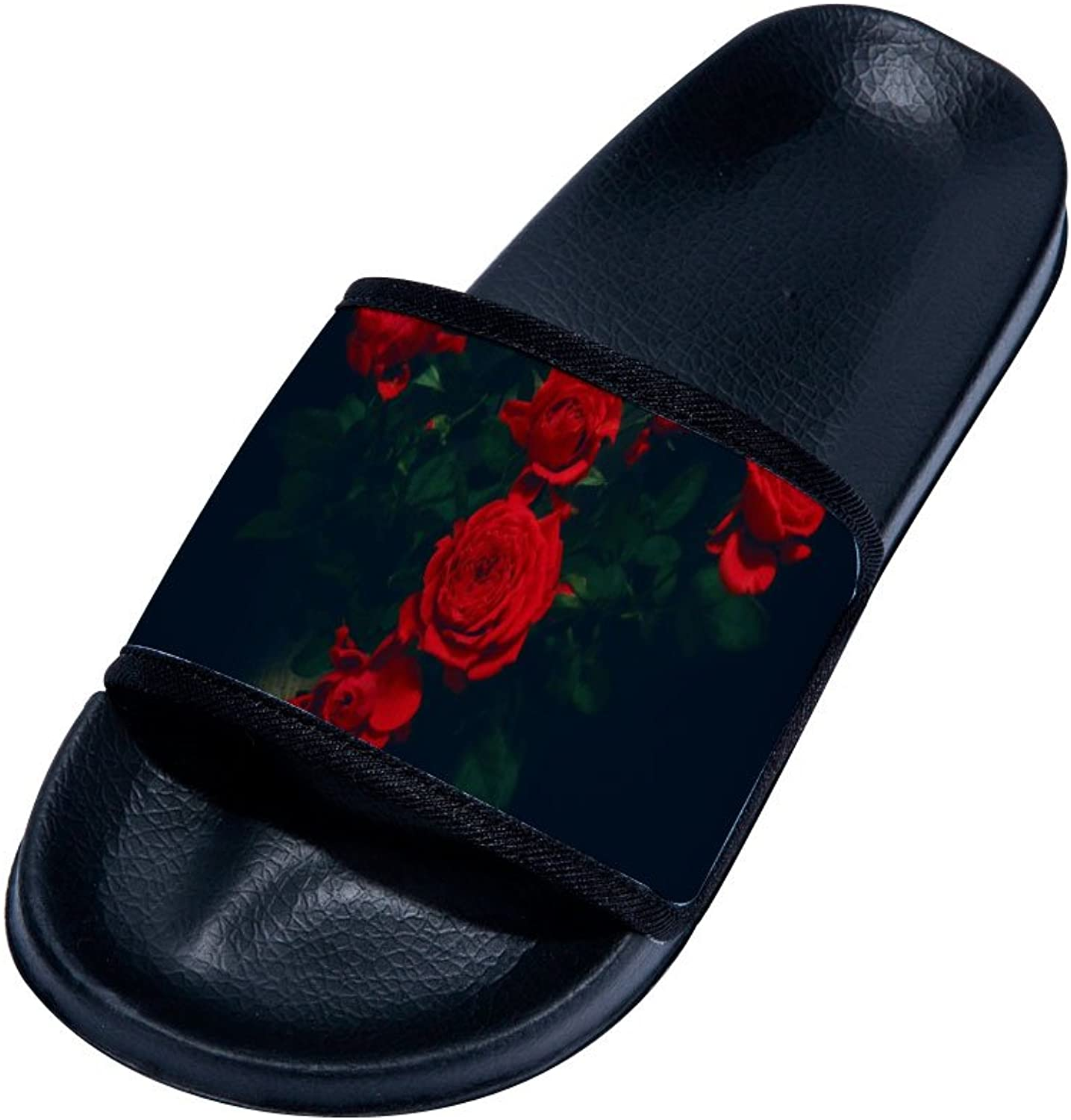 Buteri Red pink Slippers Quick-Drying Non-Slip Slippers for Womens