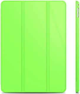JEDirect iPad Air2 ケース 三つ折スタンド オートウェイクアップ/スリープ機能 (グリーン)