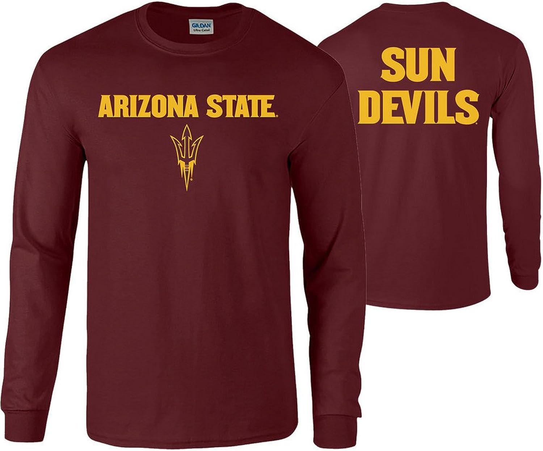 Elite Fan Shop NCAA Men's Long Sleeve Shirt Team Back