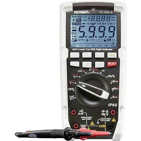 Voltcraft Vc 460 E Handheld Multimeter Digital Jets Waterproof Ip65 Cat Iii 1000 V Cat Iv 600 V Display Counts Business Industry Science