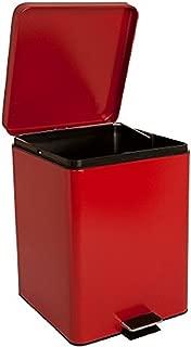 McKesson 81-35270 Entrust Waste Can, Steel, Square, 17-1/4