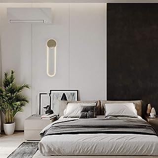 ZKS-KS American Minimalist Creative Living Room Post-modern Art Bedroom Bedside Hotel Model Partition Wall Lamp Delicate W...