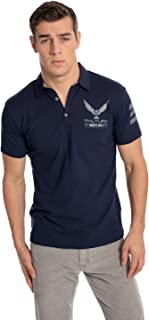 PHUTURE Men's Navy Polo Shirt