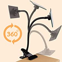 AJSCOP Clip On Security Mirror, Convex Cubicle Mirror for Personal Safety and Security Desk Rear View Monitors