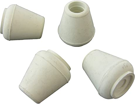 Amazon Com Lasco 02 3511 Rubber Crutch Tips 3 8 Inch White 4 Pack Home Improvement