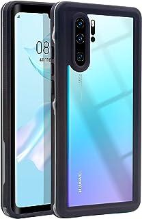 Hertekdo Funda para Huawei P30 Pro, IP68 Funda Impermeable para Huawei P30 Pro con Kickstand Absorción de Choque Resistent...