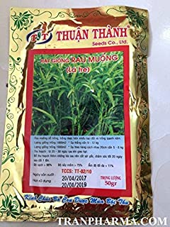 Hat giong rau muong (Morning glory, water spinach) High germination rate, & yield, pest free.