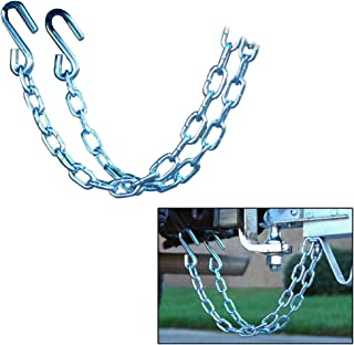CE Smith Trailer 16661A Class II Rating Safety Chain Set, 3500 lb- Replacement Parts and Accessories for Your Ski Boat, Fi...