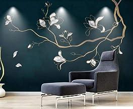 Behang 3D Behang Muurschilderingen Magnolia Bloem Vogel Eenvoudige Muurschildering 3D Slaapkamer Behang voor Woonkamer Muu...
