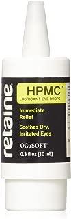 Retaine OCuSOFT HPMC 10 Milliters, Preservative-Free Lubricant Eye Drops