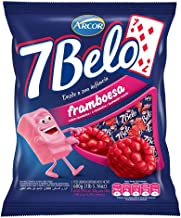 Arcor - 7 Belo - Chew Candy - 24.69 Oz (PACK OF 01) | Bala Mastigável Sabor Framboesa - 700g