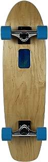 Moose Rolling Tray Skateboard Cruiser Complete, Natural/Blue, 7.75