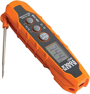 Klein Tools IR07 Dual Infrared (IR) and Probe Pocket Size LCD Digital Thermometer