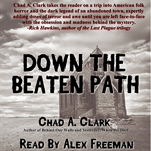 Down the Beaten Path audiobook cover art