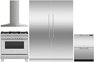 Fisher Paykel 5 Piece Kitchen Package OR36SCG4X1 36
