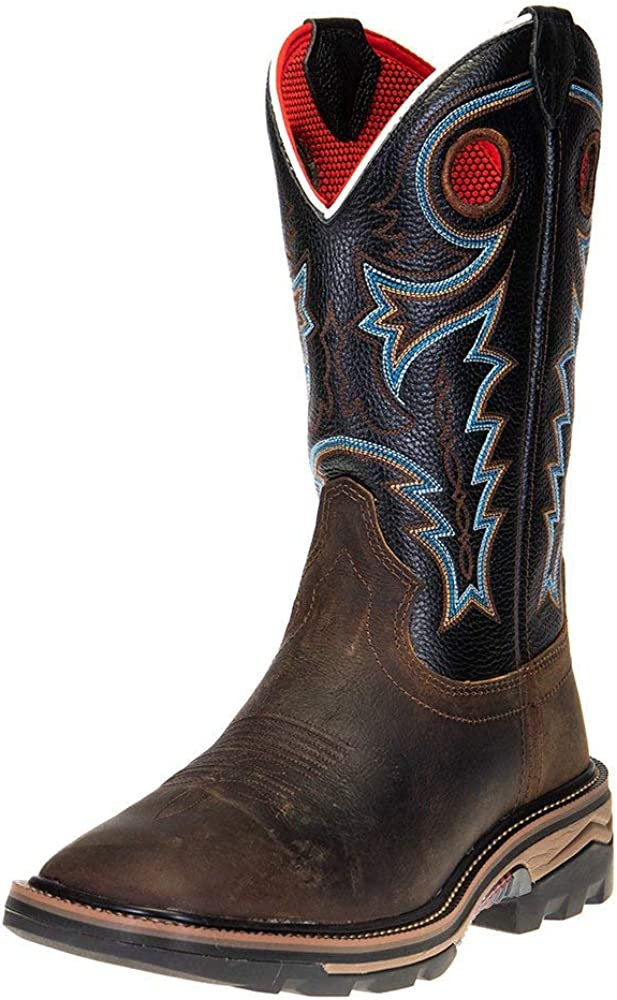 R Watson Boots Mens Coffee 12 Challenge the lowest price of Japan Distressed Midnig Buffalo 2021 spring and summer new