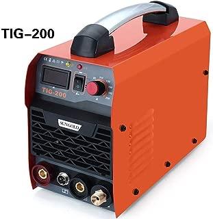 Resina Star 200Amp TIG Arc MMA IGBT DC sudor dispositivo Stock Inverter soldar Sistema Digital Pantalla LED 230V alta frecuencia Start Welder Welding sudor Inverter sudor eléctrica 200A