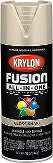 Krylon K02713007 Fusion All-in-One Spray Paint, Khaki