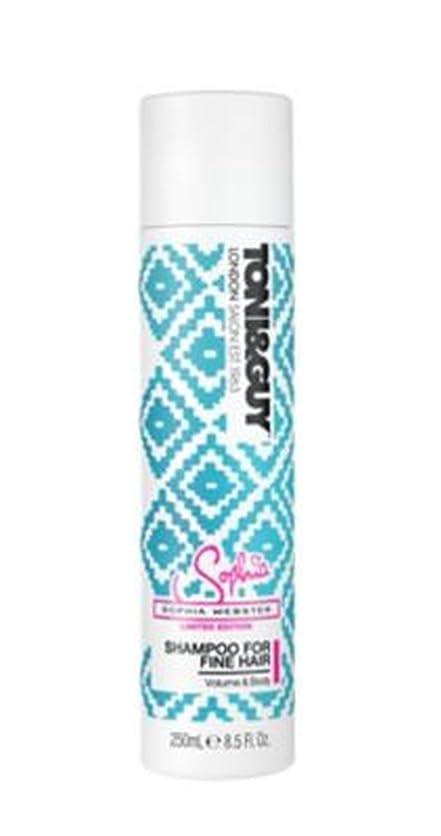 民主党テメリティ部分的にToni&Guy Cleanse Shampoo for Fine Hair 250ml - トニ&男は細い髪の250ミリリットルのためのシャンプーを清めます (Toni & Guy) [並行輸入品]