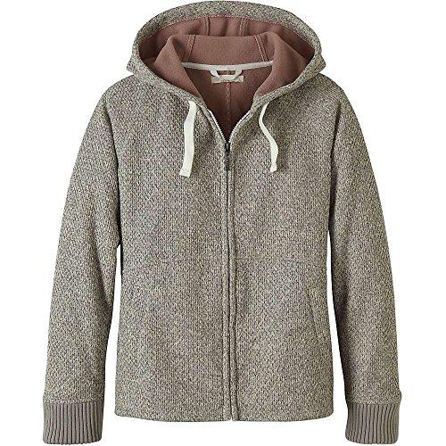 Free/Soldier Veste polaire /à capuche en laine tricot/ée avec fermeture /éclair pour homme