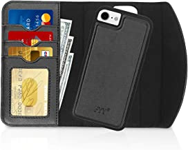 """FYY Case for iPhone SE 2020, iPhone 7/8 4.7"""", 2-in-1 Magnetic Detachable Wallet Case [Wireless Charging Support] with Card..."""