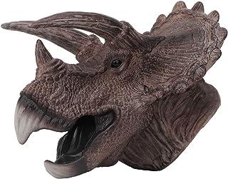 Marionetas de mano de dinosaurio Suave goma Realista Dinosau