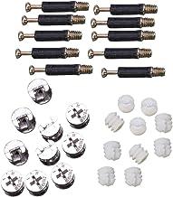 10 reeksen meubels drie-in-één bevestigingsconnectoren (het hoofddeel is eenmaal uitgerust met 40 plastic staven)