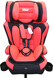 LuvLap 3 in 1 baby car seat/car chair, Extra Large Seating Space,extra cushion universal kind,foldable cupholder,ECE appro...