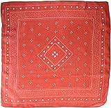 YERSE Chai Fulár, Rojo, One Size (Tamaño del fabricante:U) para Mujer