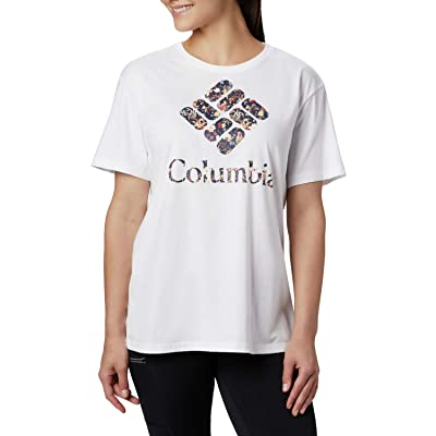 Columbia Parktm Relaxed Tee (White/Birds N Branches) Women