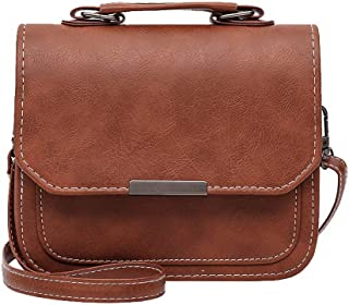 VogueZone009 Women's Shopping Pu Tote Bags Casual Crossbody Bags,CCABO212093