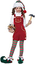California Costume Toymaker Elf Girl Child Costume