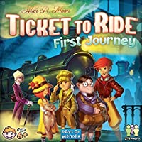 DOW720025 Ticket to Ride: First Journey Board Game Standard [並行輸入品]