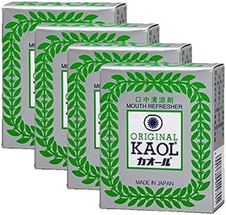 口中清涼剤 オリヂナル カオール 14.5g×4個セット