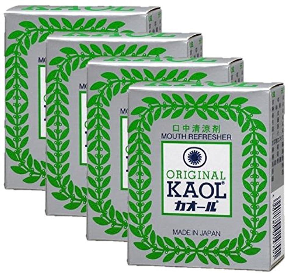 矩形食事を調理する戦闘口中清涼剤 オリヂナル カオール 14.5g×4個セット
