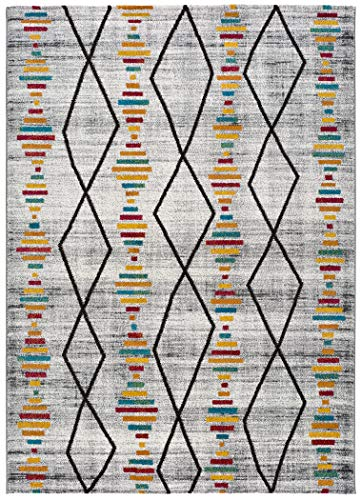 Universal Alfombra bereber Badari Oasis Multicolor, 100% Polipropileno, Multi, 140 x 200 cm