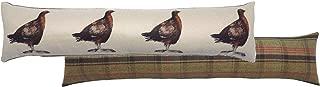 Grouse Cream Hunter Tartan Check Evans Lichfield Draught Excluder 90cm x 20cm