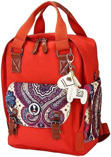 CBCAfemale Fashion - Tasche angebauter Baumwolle Mode eine Größe kapazit vitalit Orange