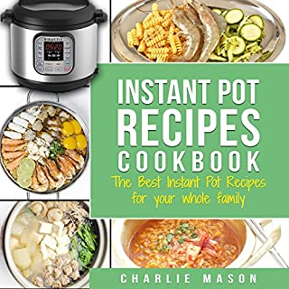 Instant Pot Recipes Cookbook audiobook cover art