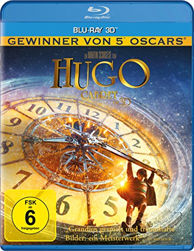 HUGO CABRET SINGLE 3D - MOVIE
