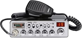Uniden PC78LTX 40-Channel Trucker`s CB Radio with Integrated SWR Meter, PA Function, Hi Cut, Mic/RF Gain, and Instant Channel 9,Silver