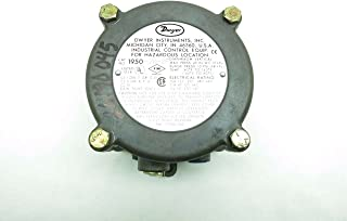 DWYER 1950-20-2F Explosion Proof Differential Pressure Switch 480V D555143