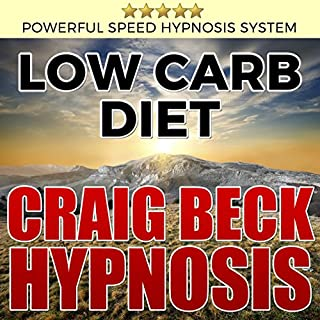 Low Carb Diet: Craig Beck Hypnosis audiobook cover art