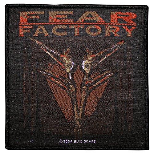Fear Factory–Arca Type [Patch/Parche, Tejida] [sp1874]