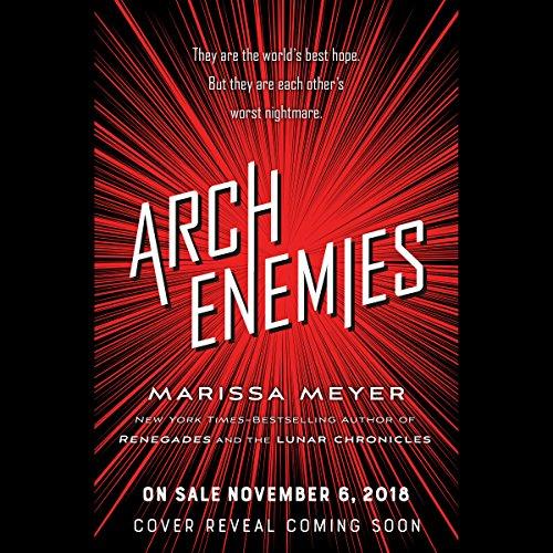 Archenemies audiobook cover art