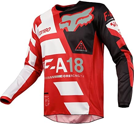 FOX YOUTH 180 SAYAK JERSEY, RED, X-LG 19446-003