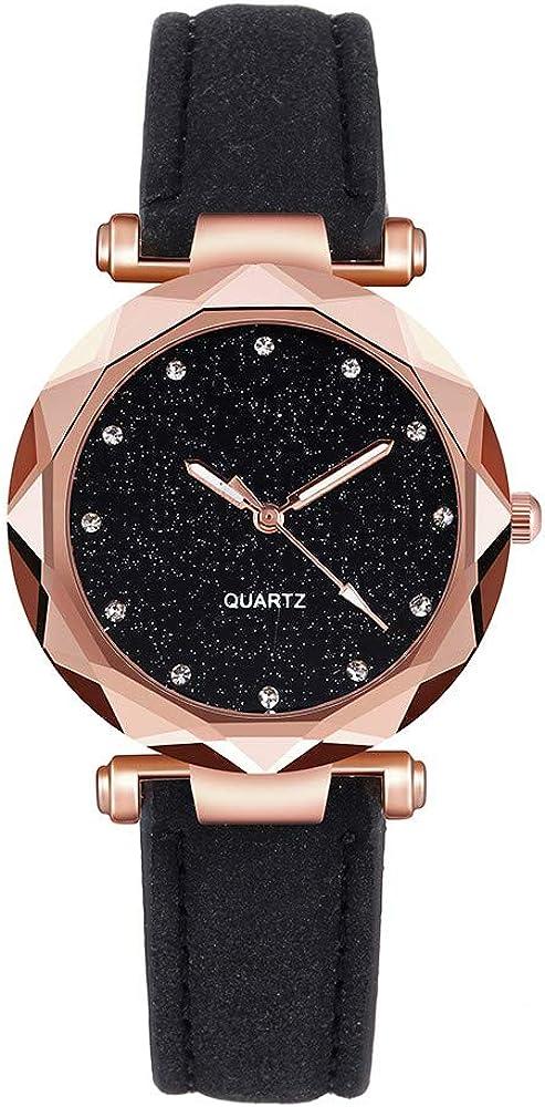 Pocciol Womens Watches Ultra Thin Waterproof -Fashion Wrist Watch Quartz Analog Belt Watch Gifts for Wife Girlfriends