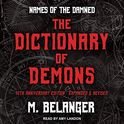 The Dictionary of Demons: Tenth Anniversary Edition cover art