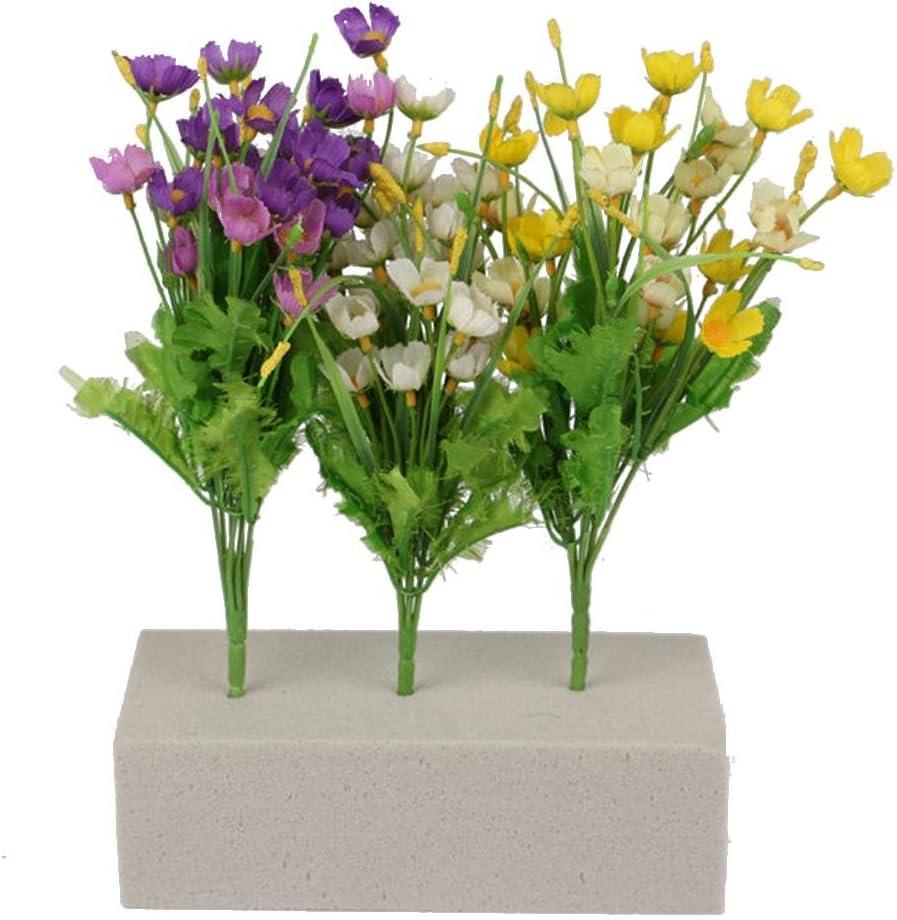 /Mousse Briques Oasis Floral Mousse Fleuriste Blocs Blocs Titulaire De La Fleur S/èche pour La Fleur Affiche et Arrangements DIY Fournitures Dartisanat